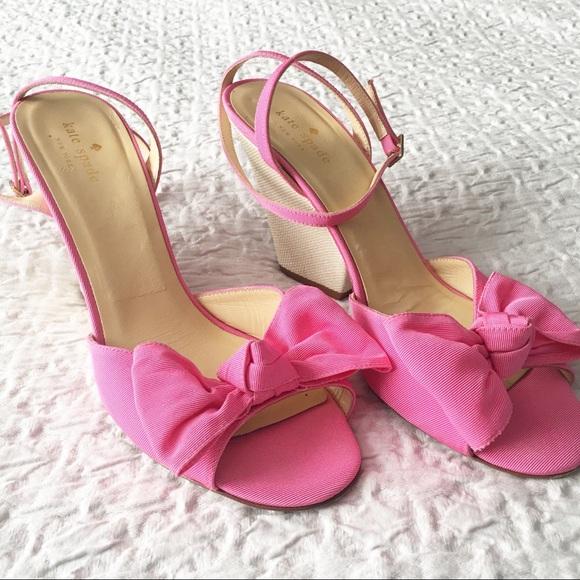 50d615c77f2 Kate Spade Bow sandal iberis zinnia pink size 10